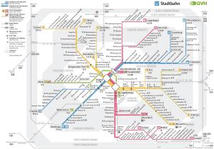 Mapa metro Hannover 8