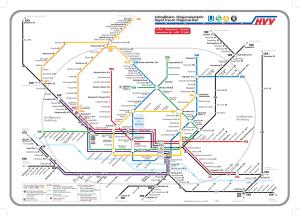 mapa metro Hamburgo