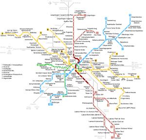 Mapa metro Hannover 3