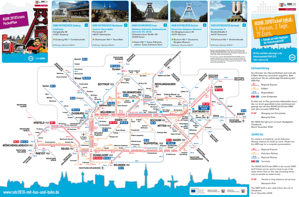 Mapa metro Essen 6 a