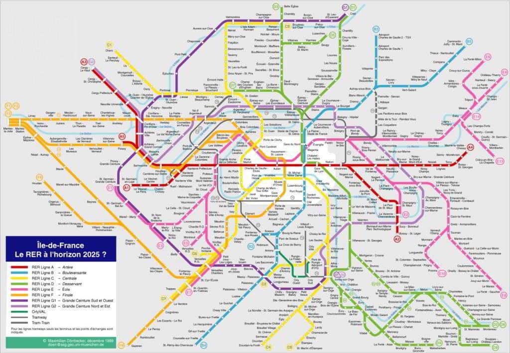 Mapa metro París 2