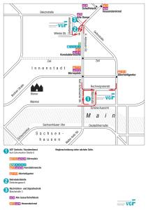 Mapa metro Frankfurt 8