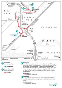 Mapa metro Frankfurt 14