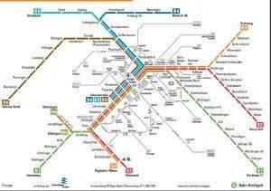 Stuttgart metro map 2