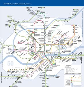 Karte Meter Frankfurt 1