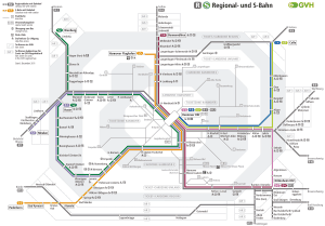 mapa do metrô Hannover 7