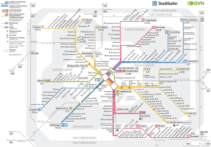 mapa do metrô Hannover 8
