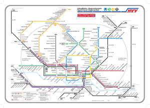 mapa do metrô de Hamburgo