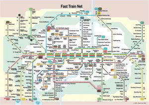 Munich metro map 2