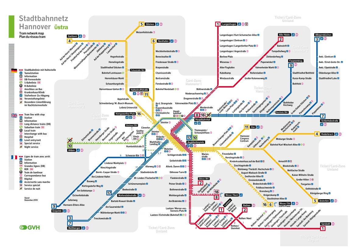 Metro Guide Files Hanover Mapa Metro
