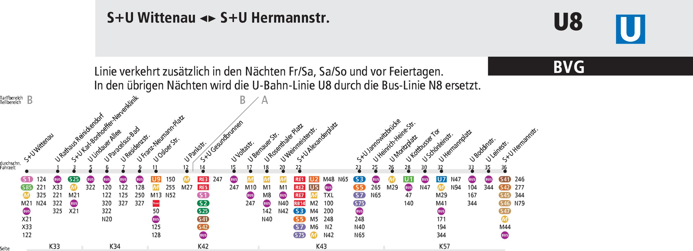 Karta Berlin Bvg.Mapa Metro Berlin Berlin U Bahn Mapa Metro