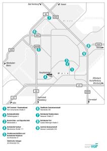 Mapa metros Frankfurt 7