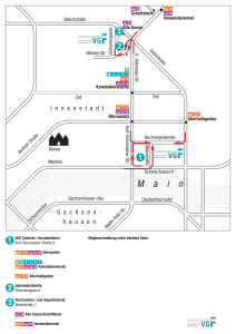 Mapa metros Frankfurt 8