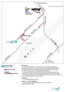 地図メートルフランクフルト 10