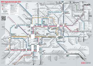 מפת Mulheim רכבת תחתית 4