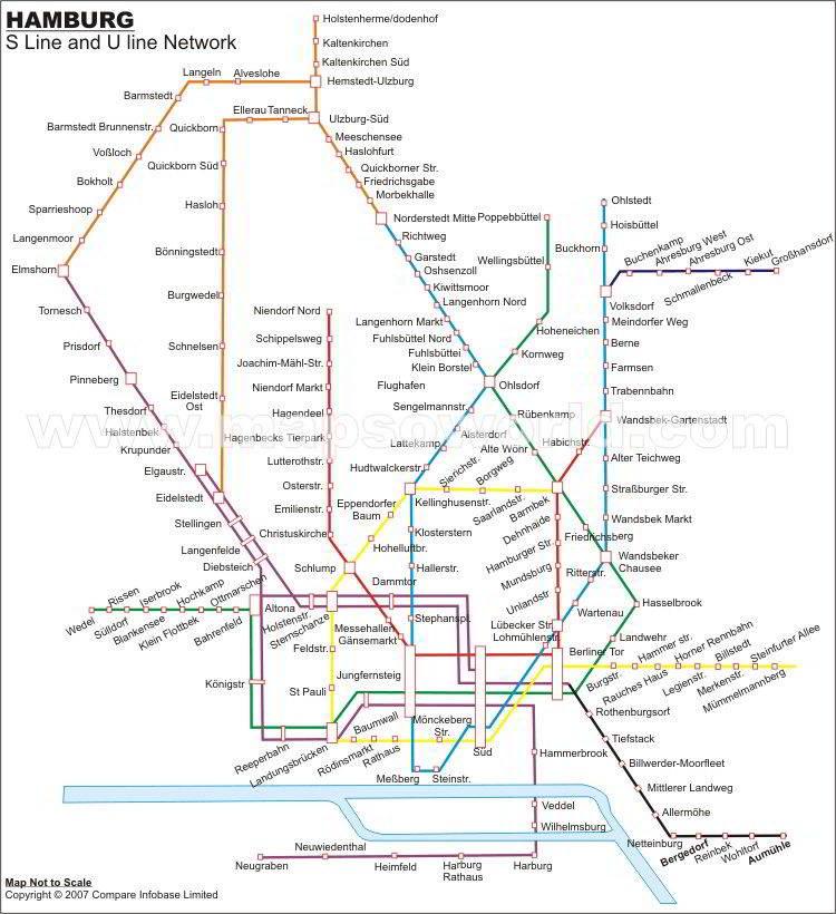 Germany Files Mapa Metro