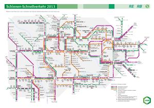 Mulheim mapa del metro 5