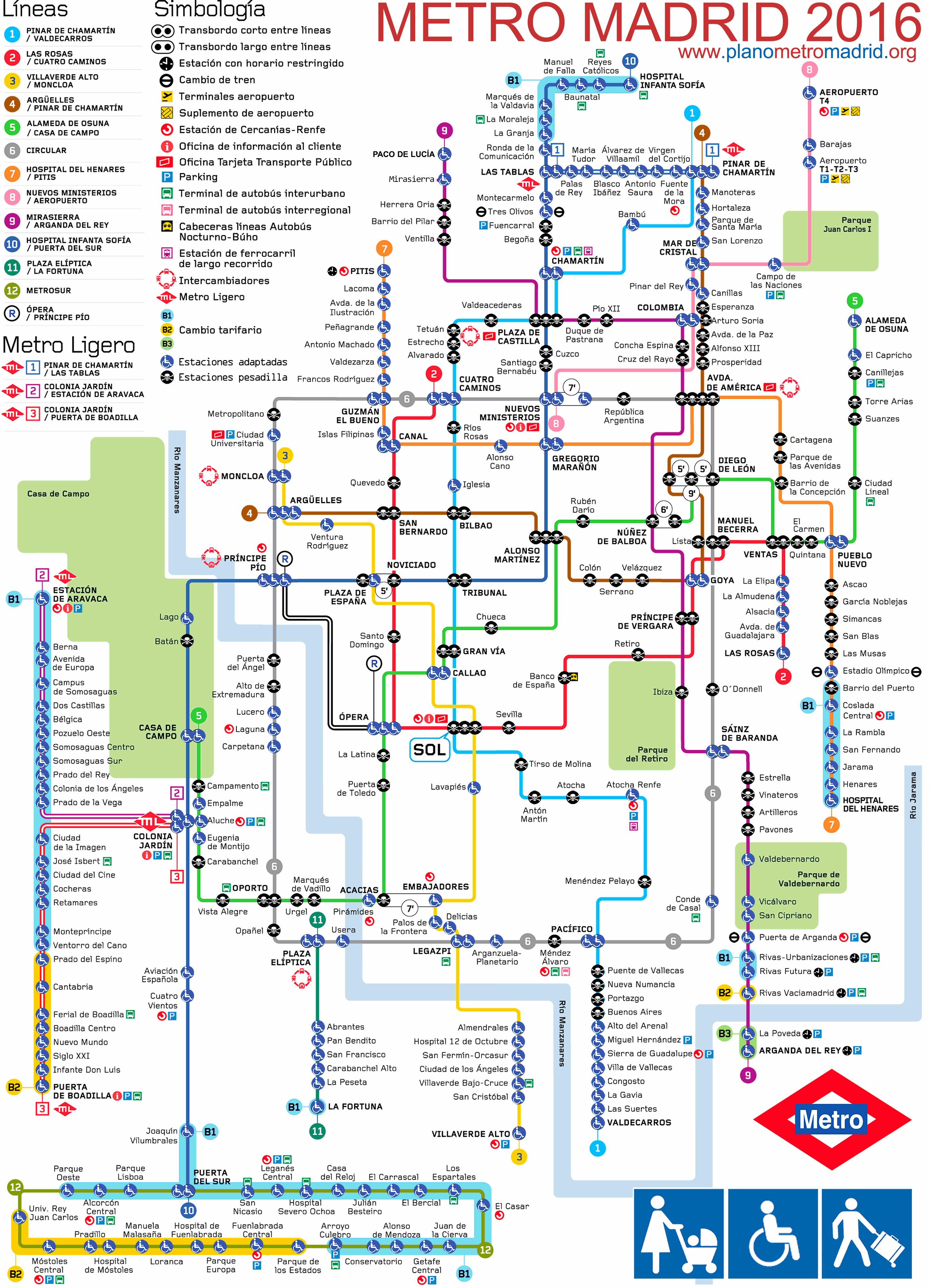 Metro Barcelona Mapa Pdf.Mapa Metro Subway Maps Worldwide