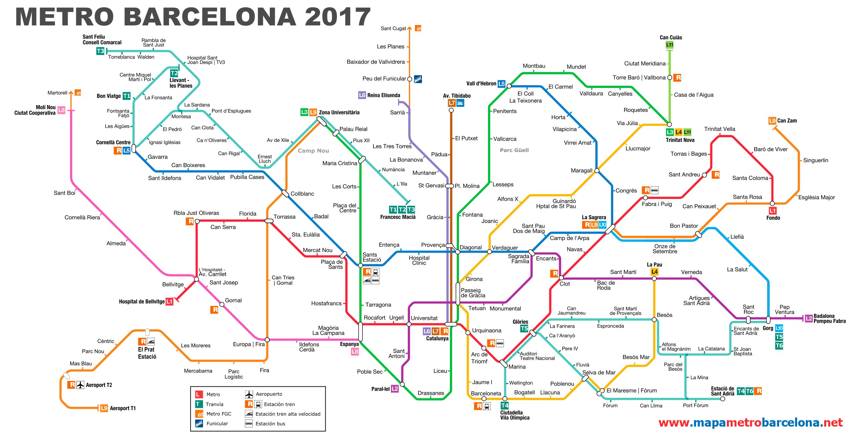 mapa metro barcelona España archivos   Mapa Metro mapa metro barcelona